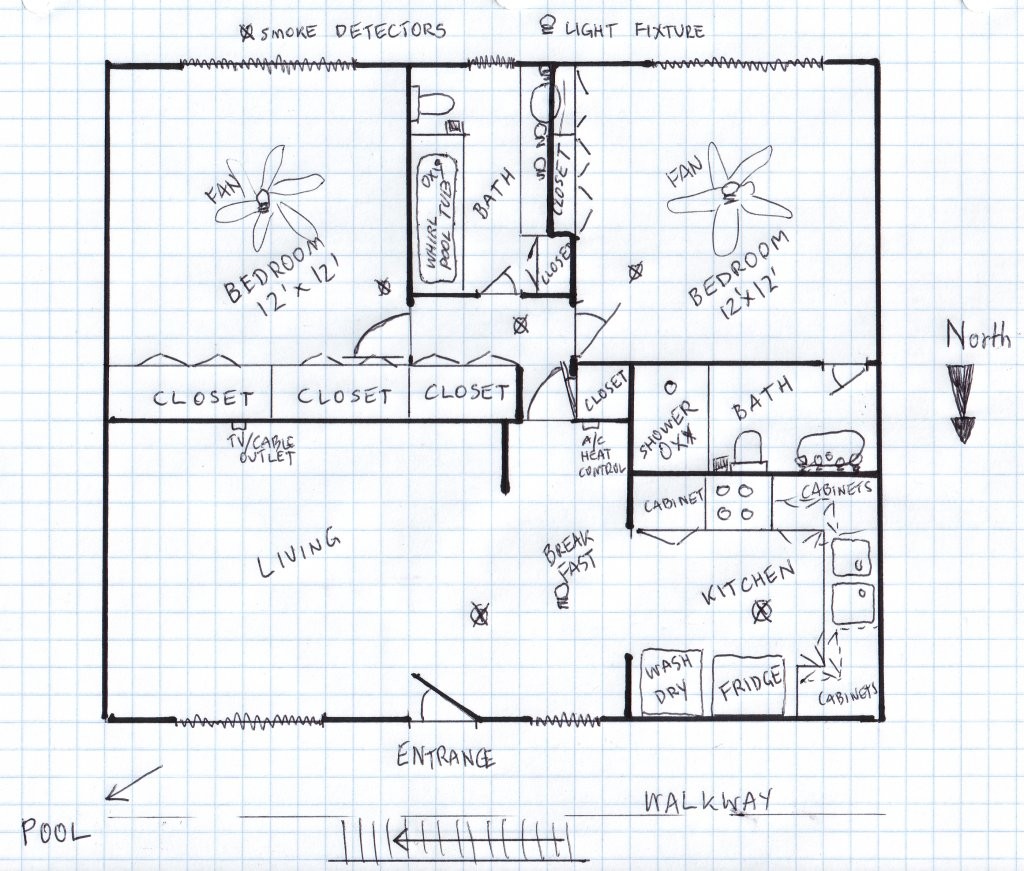 Collection of drawing floor plans by hand drawn hand for How to draw a site plan by hand